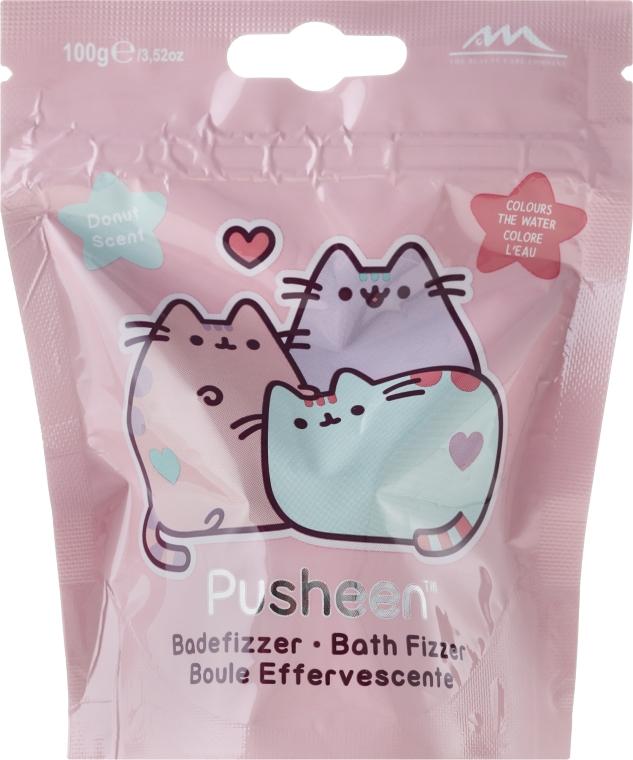 Šumivá bomba do kúpeľa - The Beauty Care Company Pusheen Bath Fizzer