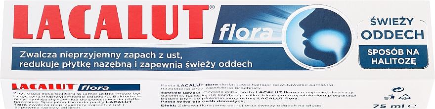Zubná pasta - Lacalut Flora Toothpaste — Obrázky N1