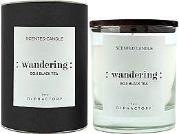 """Voňavky, Parfémy, kozmetika Vonná sviečka """"Bobule goji"""" - Ambientair The Olphactory Wandering Goji Black Tea Black Design"""