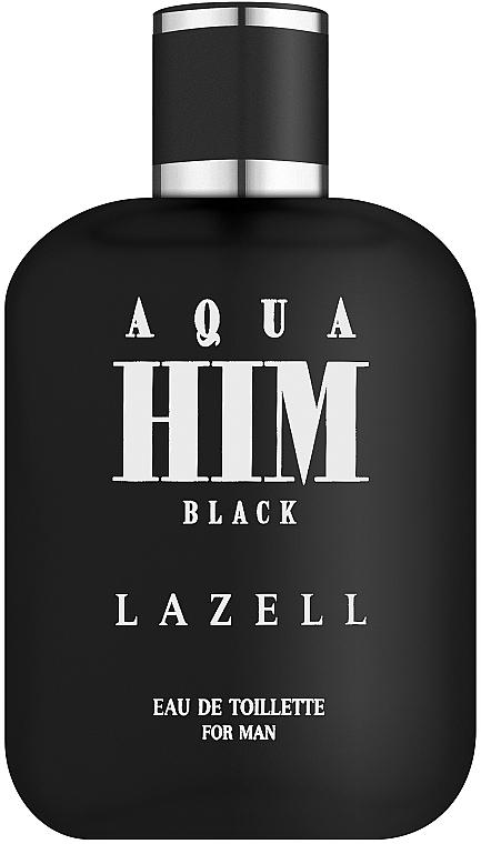 Lazell Aqua Him Black - Toaletná voda