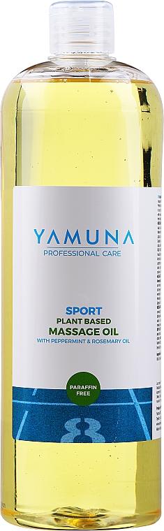 """Masážny olej """"Mäta pieporná-rozmarín"""" - Yamuna Peppermint Rosemary Vegetable Massage Oil"""