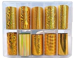 Voňavky, Parfémy, kozmetika Sada transferovej fólie - Deni Carte Gold Holo