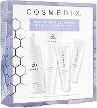 Voňavky, Parfémy, kozmetika Sada - Cosmedix Clarifying & Cleansing 4-Piece Essentials Kit (f/cleanser/60ml + f/ser/15ml + f/mask/30g + f/cr/15ml)