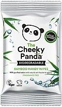 Voňavky, Parfémy, kozmetika Vlhčené obrúsky - The Cheeky Panda Biodegradable Bamboo Handy Wipes