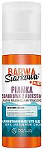Voňavky, Parfémy, kozmetika Upokojujúca pena na umývanie z aloe vera - Barwa Siarkowa