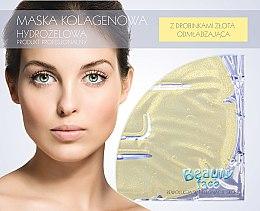 Voňavky, Parfémy, kozmetika Kolagénová maska s časticami zlata - Beauty Face Collagen Hydrogel Mask
