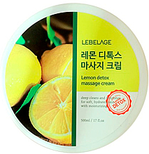Voňavky, Parfémy, kozmetika Masážny krém na telo - Lebelage Lemon Detox Massage Cream