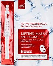 Voňavky, Parfémy, kozmetika Maska na tvár so sérom - Czyste Piekno Active Regeneration + Serum
