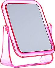 Voňavky, Parfémy, kozmetika Štvorcové kozmetické zrkadlo, 5282, ružové - Top Choice
