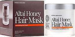 Voňavky, Parfémy, kozmetika Maska na farbené vlasy - Natura Siberica Fresh Spa Russkaja Bania Detox Altai Honey Hair Mask