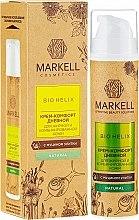 Voňavky, Parfémy, kozmetika Komfortný denný krém na mastnú pleť - Markell Cosmetics Bio-Helix Day Cream