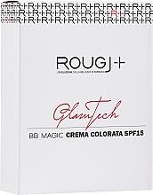 Voňavky, Parfémy, kozmetika BB krém na tvár - Rougj+ GlamTech BB Magic Tinted Cream SPF15