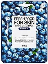Voňavky, Parfémy, kozmetika Textilná maska na tvár Čučoriedka - Superfood For Skin Facial Sheet Mask Blueberry Energizing