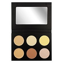 Voňavky, Parfémy, kozmetika Korektor pre tvár - Makeup Revolution Katie Price Conceal Contour&Light for Men