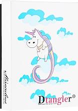 Sada kefiek na rozmotávanie vlasov, modrá a ružová - KayPro Dtangler Unicorn — Obrázky N1