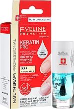Voňavky, Parfémy, kozmetika Kondicionér na nechty - Eveline Cosmetics Nail Therapy Professional Keratin Pro