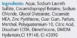 Šampón proti lupinám, s mentolom - Xpel Marketing Ltd Medipure Hair & Scalp Anti-Dandruff Menthol Shampoo — Obrázky N3