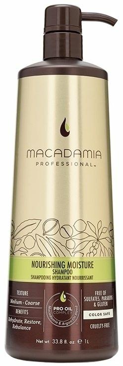 Hydratačný šampón na vlasy - Macadamia Professional Natural Oil Nourishing Moisture Shampoo — Obrázky N1