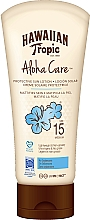 Voňavky, Parfémy, kozmetika Lotion s telo s SPF ochranou - Hawaiian Tropic Aloha Care Protective Sun Lotion Mattifies Skin SPF 15