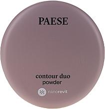 Voňavky, Parfémy, kozmetika Dvojitý púder na kontúrovanie - Paese Contour Duo Powder