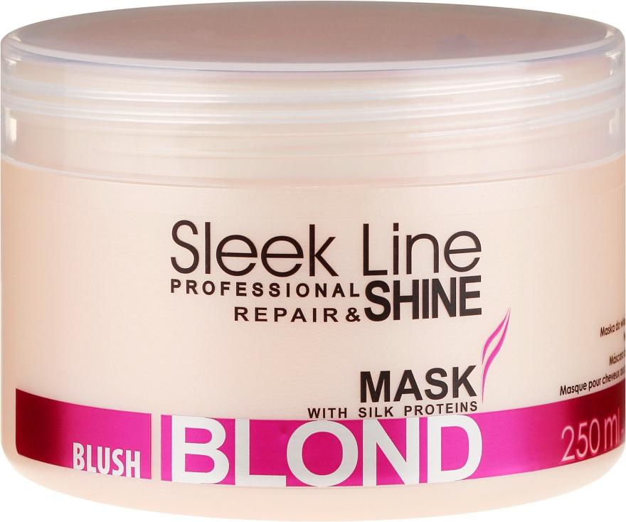 Maska na vlasy - Stapiz Sleek Line Blush Blond Mask