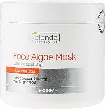 Voňavky, Parfémy, kozmetika Alginátová maska na tvár s hlinou Gassul - Bielenda Professional Algae Face Mask