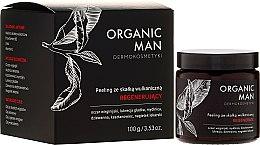 Voňavky, Parfémy, kozmetika Regeneračný peeling s vulkanickou horninou - Organic Life Dermocosmetics Man