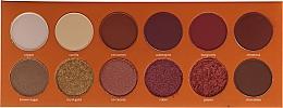 Voňavky, Parfémy, kozmetika Paleta tieňov na viečka - Paese Warm Memories Eyeshadow Palette