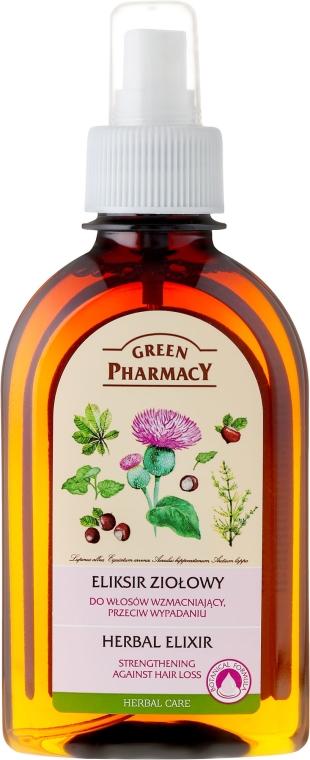 """Bylinná infúzia na vlasy """"Proti strate"""" - Green Pharmacy"""