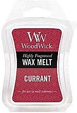 Voňavky, Parfémy, kozmetika Voňavý vosk - WoodWick Wax Melt Currant