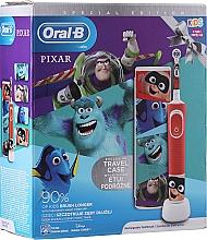 Voňavky, Parfémy, kozmetika Sada - Oral-B Kids Pixar Special Edition (tooth/brush/1pcs + case) (1 ks)