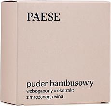 Voňavky, Parfémy, kozmetika Bambusový sypký púder s hodvábnymi proteínmi a extraktom zo zmrazeného vína - Paese Bamboo Powder With Silk And Frozen Wine Extract