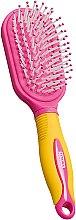 Voňavky, Parfémy, kozmetika Kefa na vlasy detská masážna, žlto ružová - Titania