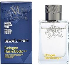 Voňavky, Parfémy, kozmetika Label.m Cologne Hair & Body - Kolínska voda