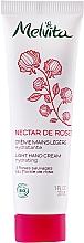 Voňavky, Parfémy, kozmetika Ľahký krém na ruky - Melvita Nectar De Rose Light Hand Cream