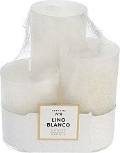 Voňavky, Parfémy, kozmetika Sada vonných sviečok - Artman Glass Classic Perfume №8 Lino Blanco Candle (candle/3pc)