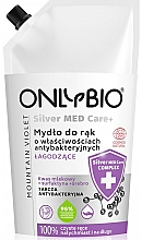 Voňavky, Parfémy, kozmetika Mydlo na ruky - Only Bio Silver Med Care+ Mountain Violet Hand Soap