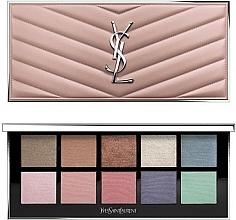 Voňavky, Parfémy, kozmetika Paleta na líčenie očí a tváre - Yves Saint Laurent Couture Colour Clutch Palette