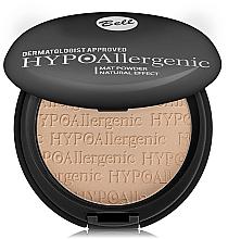 Voňavky, Parfémy, kozmetika Matný hypoalergénny púder - Bell HypoAllergenic Mat Powder