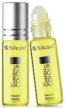 Voňavky, Parfémy, kozmetika Olej na nechty a kutikulu - Silcare The Garden of Colour Cuticle Oil Roll On Lemon Yellow