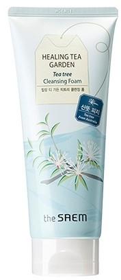 Pena na umývanie s extraktom z čajovníka - The Saem Healing Tea Garden Tea Tree Cleansing Foam — Obrázky N1