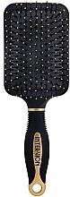 Voňavky, Parfémy, kozmetika Pneumatická kefa na vlasy, 499250, čierno-zlatá - Inter-Vion