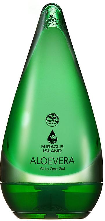 "Gél na tvár a telo ""Aloe Vera"" - Miracle Island Aloevera 99% All In One Gel"