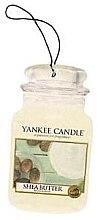 "Voňavky, Parfémy, kozmetika Arómatizator ""Bambucké maslo"" - Yankee Candle Shea Butter Car Jar Ultimate"