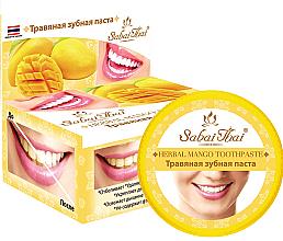 Voňavky, Parfémy, kozmetika Zubná pasta s mangom - Sabai Thai Herbal Mango Toothpaste