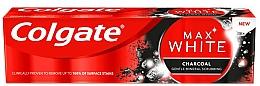 Bieliaca zubná pasta s dreveným uhlím - Colgate Max White Charcoal — Obrázky N1