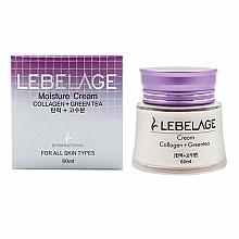 Voňavky, Parfémy, kozmetika Hydratačný a výživný krém s kolagénom a zeleným čajom - Lebelage Collagen+Green Tea Moisture Cream