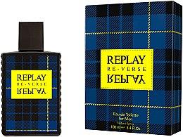 Voňavky, Parfémy, kozmetika Replay Signature Re-verse For Men - Toaletná voda
