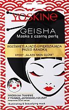 Voňavky, Parfémy, kozmetika Rozjasňujúca maska na tvár s čiernymi perlami - Yoskine Geisha Mask