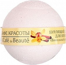 "Voňavky, Parfémy, kozmetika Šumivá bomba do kupeľa ""Vanilkový sorbet"" - Le Cafe de Beaute Bubble Ball Bath"